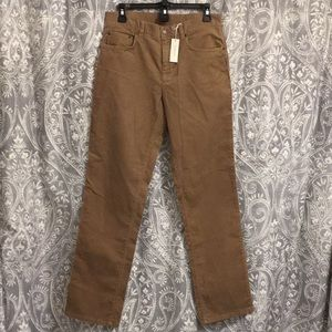 Size 6 stretch corduroy pants by Jones of New York